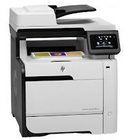 HP LaserJet Pro 300 Color MFP M375nw Pilote Pour Windows et Mac
