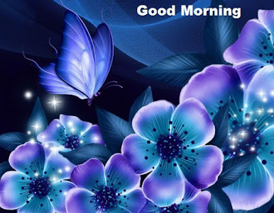 Good morning pictures with flowers - Blue lotus wallpapers