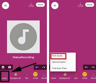 Cara Membuat Voice Note ( VN ) Menjadi Status WA / Whatsapp