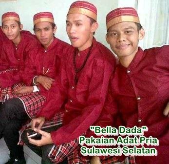 pakaian adat pria sulawesi selatan