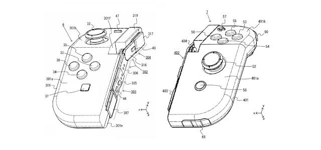 Joy-Con dobráveis são registrados em patente da Nintendo
