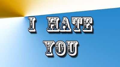 I Hate You Status For Whatsapp In English