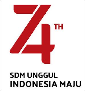 Pedoman, Tema dan Logo HUT Ke 74 RI Tahun 2019