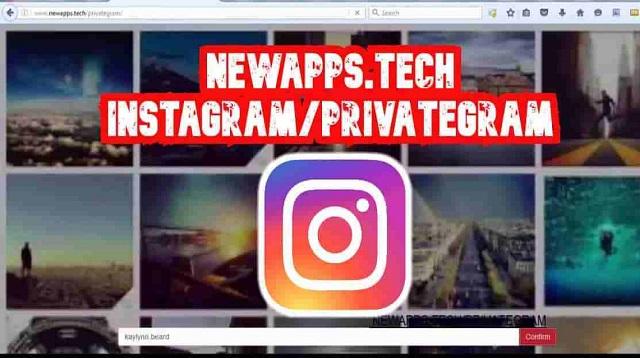 NewApps Tech Instagram Privategram