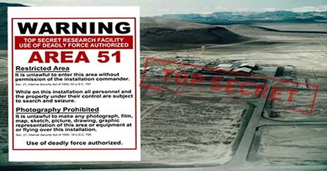 Area 51 The Secret Place in the world