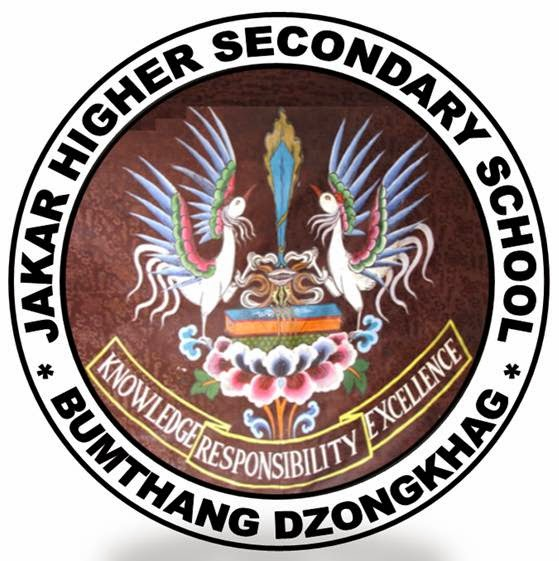 Jakar Higher Secondary School Logo