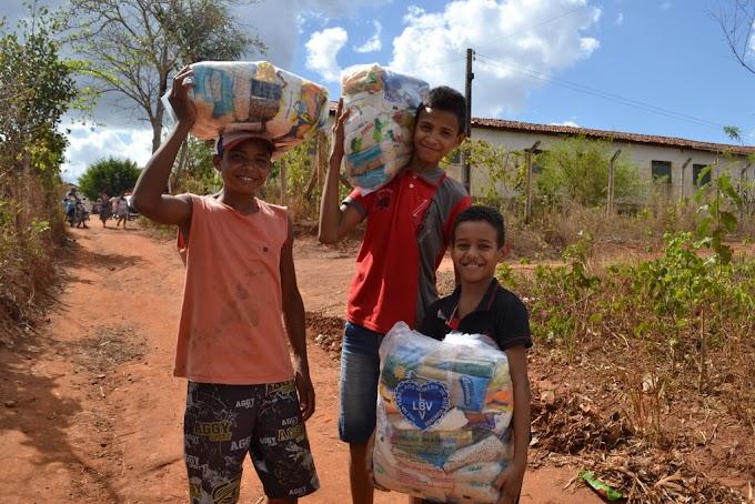 LBV: Caravana da Boa Vontade assistiu milhares de famílias na Paraíba.