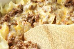 CREAMY BEEF NOODLE BAKE RECIPE