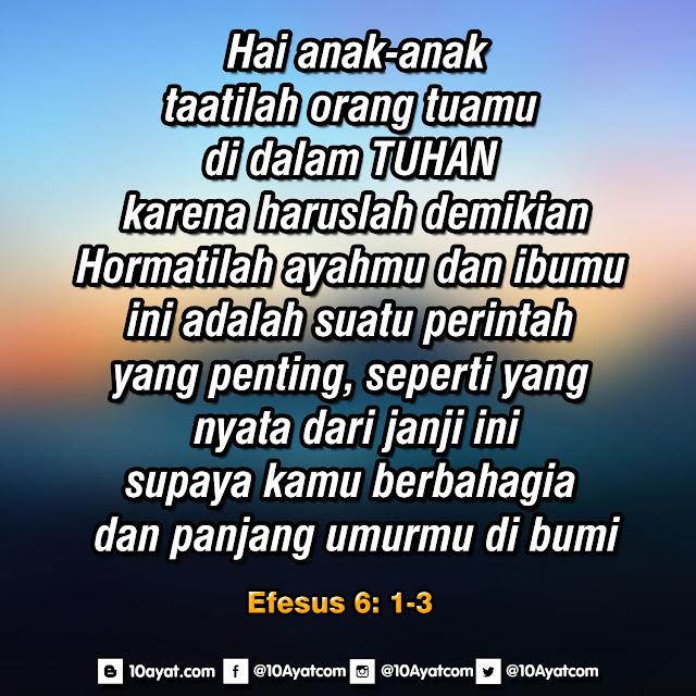 Efesus 6: 1-3