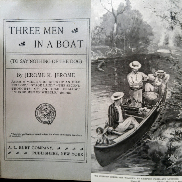 Three Men In A Boat--Jerome K. Jerome