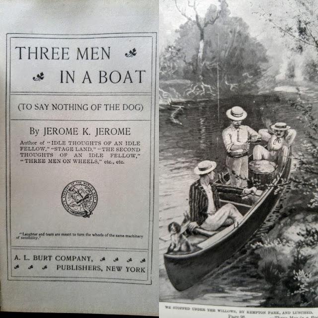 Three Men In A Boat--Jerome K. Jerome