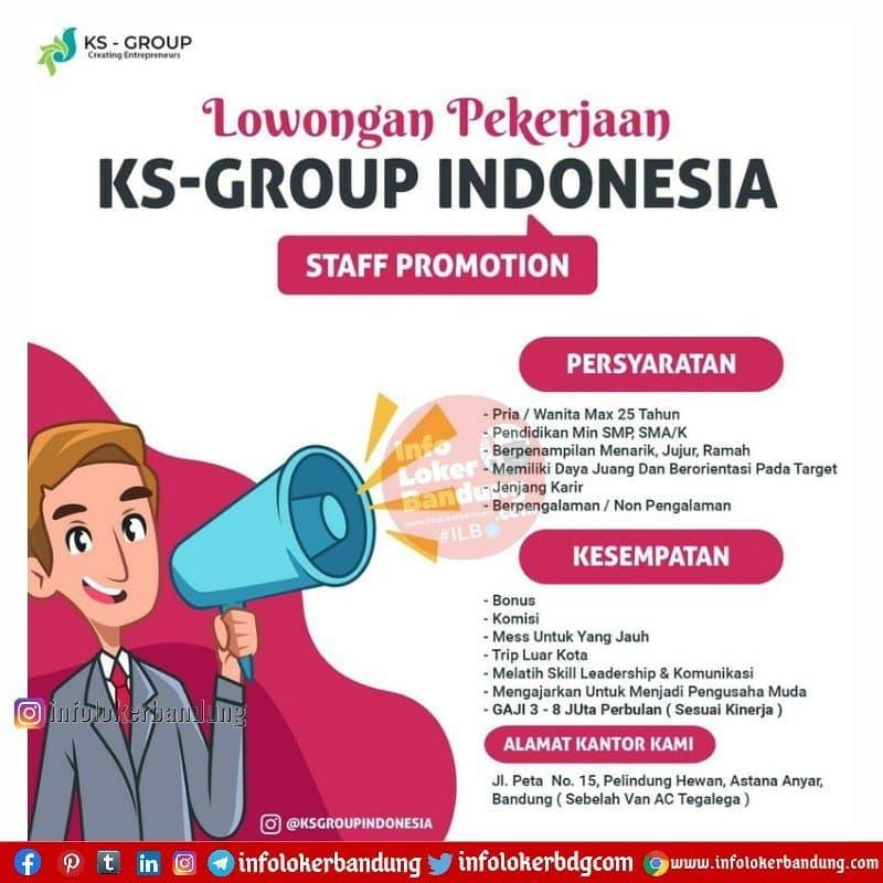 Lowongan Kerja PT. Kinklaus Sukses indo (KS-Group) Bandung Maret 2021