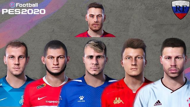 PES 2020 Facepack V3 Russian Players by RusFRESCO + Bonus