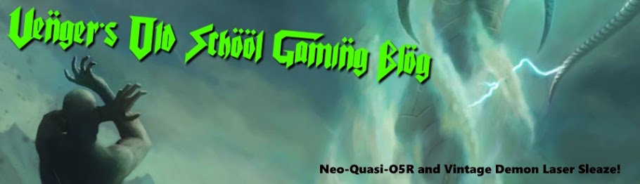 Venger's old school gaming blog