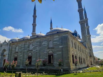 Edirne Selimiye Camii Avlusu - Ön