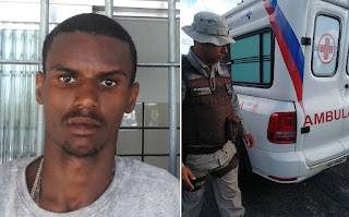 Paciente é morto com 12 tiros durante transferência em ambulância na Bahia