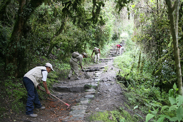 Inca Trail Maintenance