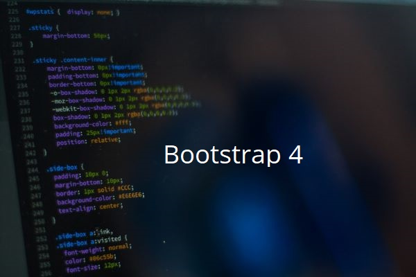 Learn Bootstrap 4 : Create a Landing Page
