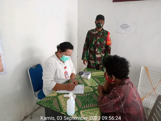Operasi PPKM Skala Micro Dilaksanakan Personel Jajaran Kodim 0207/Simalungun Bersama Dinas Terkait