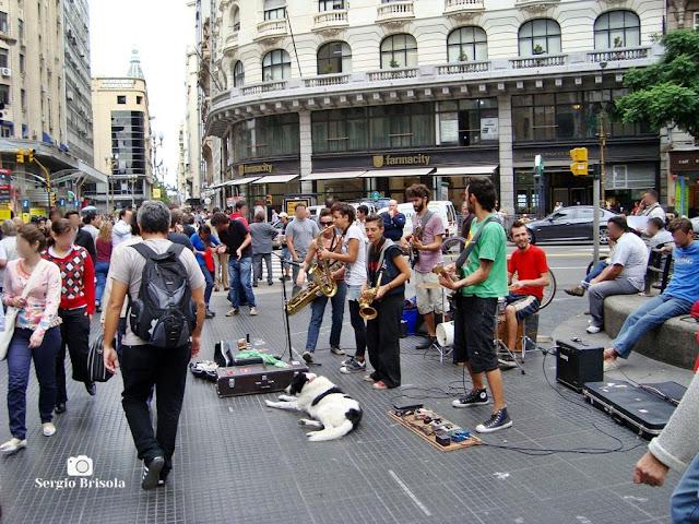 Artistas de rua em Buenos Aires