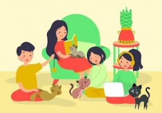 kegiatan teman, saudara, dan orang tuamu untuk menyayangi hewan-hewan yang ada di sekitar www.simplenews.me