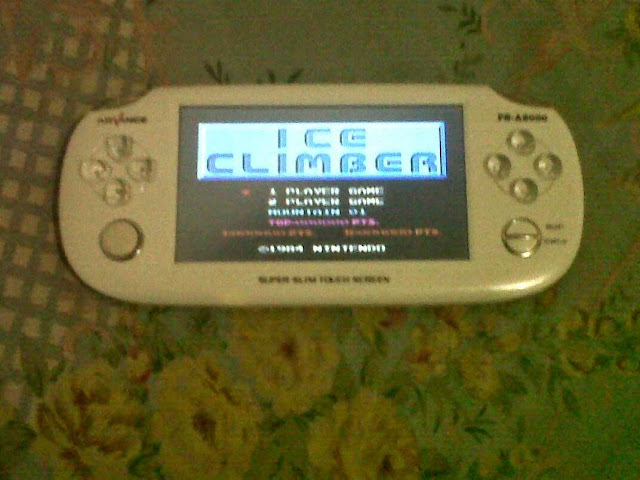 Bermain Game NES ice climber