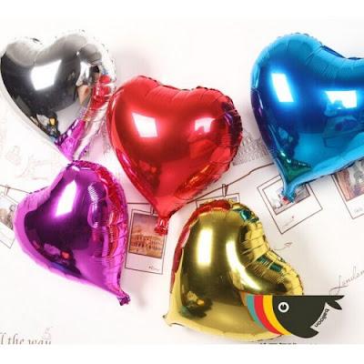 Balon Foil Hati