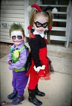 Harley Quinn Costume Ideas for KIDS