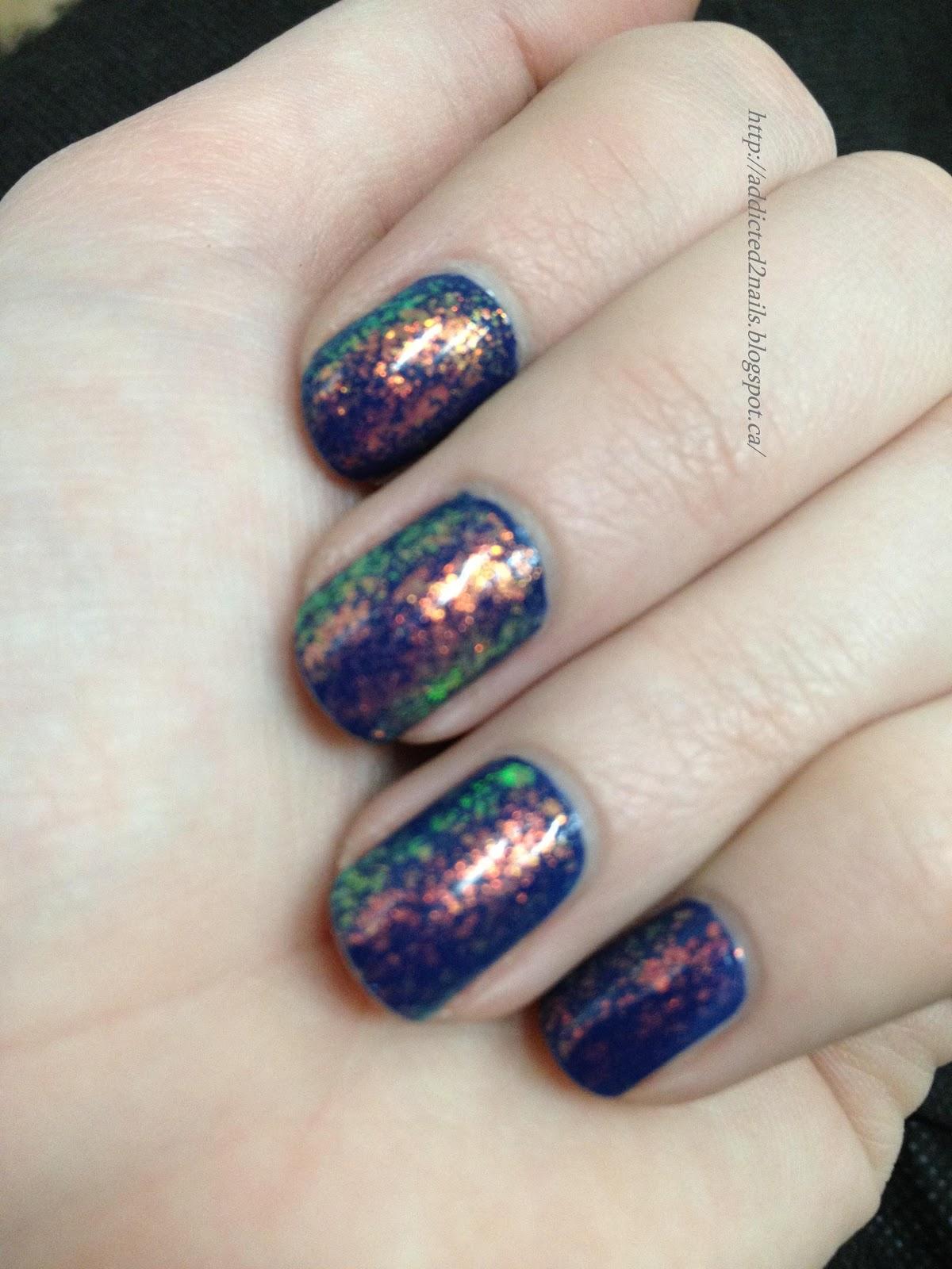 Nail Polish Addict Pretty Little Accent Nails