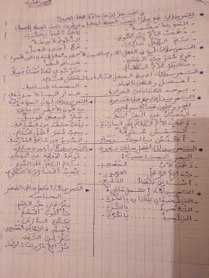 تقويم في مادة اللغة العربية السنة الرابعة ابتدائي الجيل الثاني