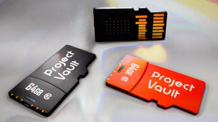 Google-project-vault-MicroSD-Card-password