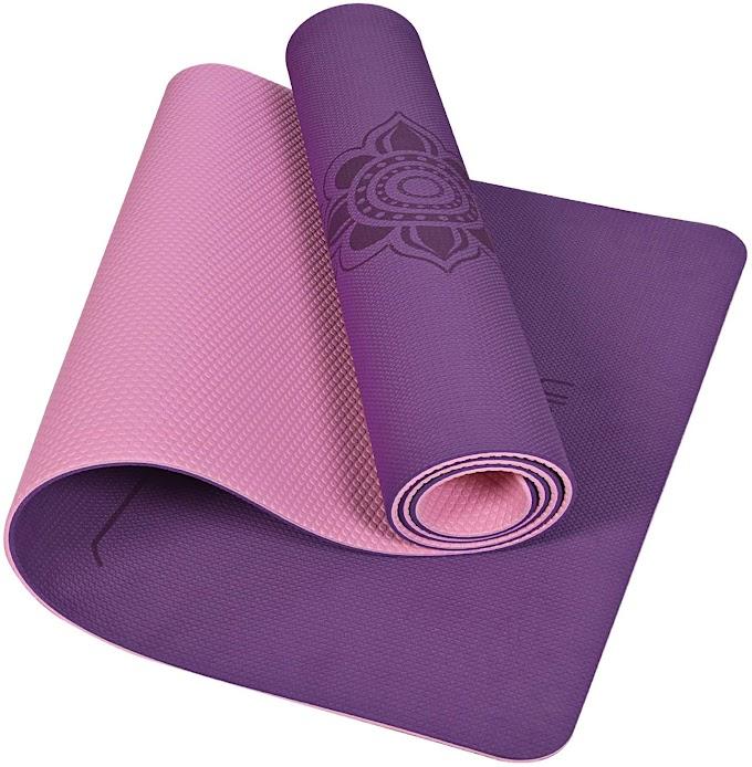 yoga mat non slip fitness exercise mat