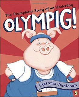 https://www.amazon.com/Olympig-Victoria-Jamieson/dp/1101997796/ref=sr_1_1?s=books&ie=UTF8&qid=1471121808&sr=1-1&keywords=olympig