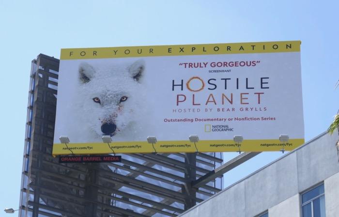 Hostile Planet Emmy For your exploration billboard