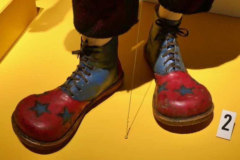 Joker movie clown costume shoes