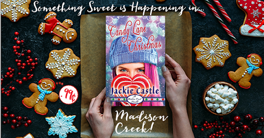 CANDY LANE CHRISTMAS - Jackie Castle - One free book and one free ebook