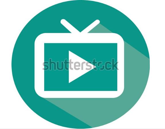 illustration icon logo streaming