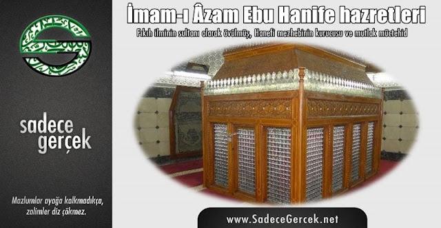 İmam-ı Âzam Ebu Hanife hazretleri