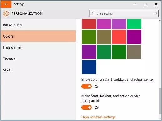 Cara Mengubah Warna Start Menu Windows 10-3