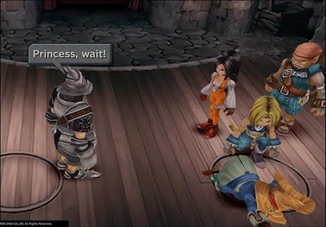 Bermain Final Fantasy IX Android