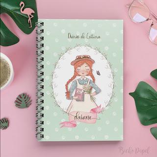 diario de leitura caderno planner livros tbr metas leitura organizar