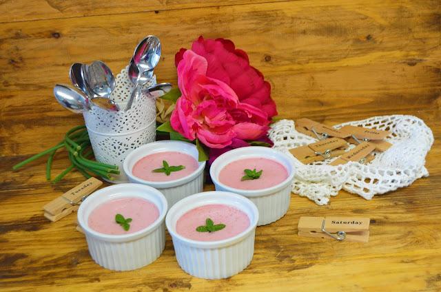 Las delicias de Mayte, recetas saludables, recetas, receta, mousse de fresas, recetas de cocina, postres faciles y rapidos, postres caseros, postres saludables, postres con fresas, mousse de fresas y queso fresco,