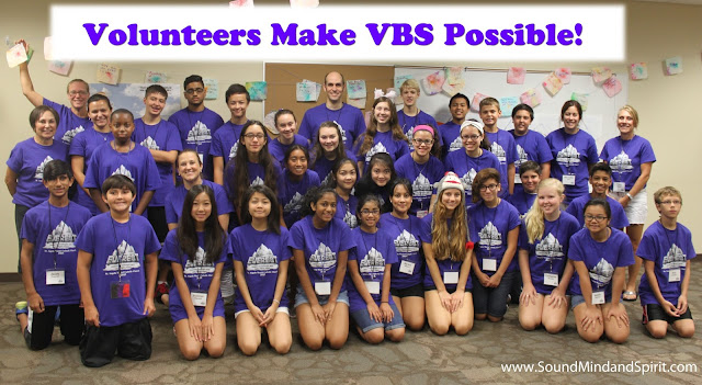 Volunteers Make VBS Possible