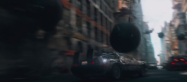 delorean back to the future ready player one