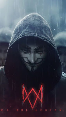 Beautiful hacker avatar