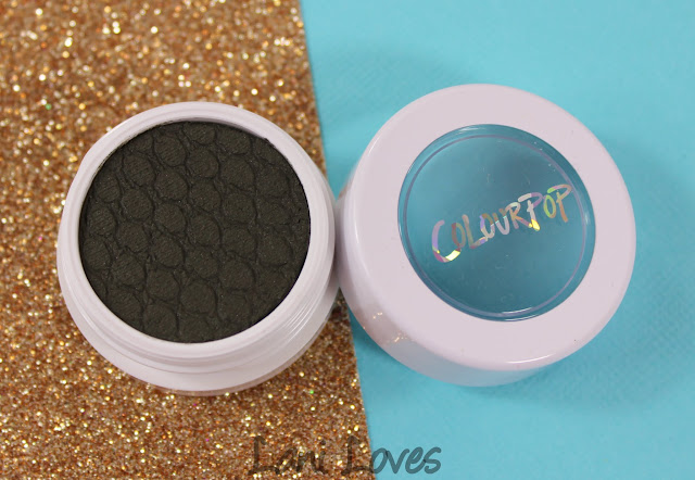 ColourPop Super Shock Shadow - High Rise Swatches & Review