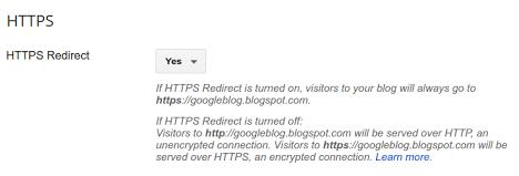 Amankan blog dengan https