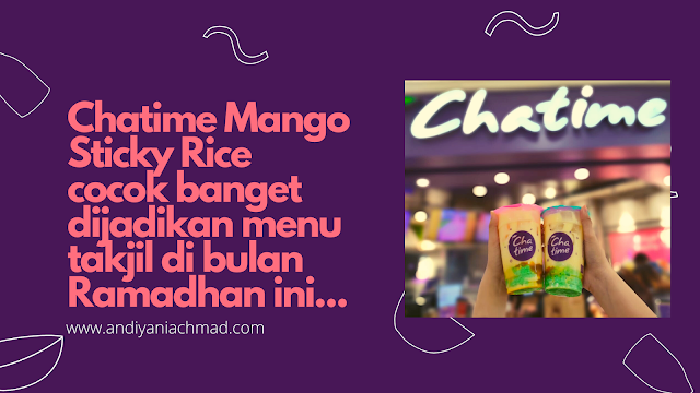 Chatime Mango Sticky Rice