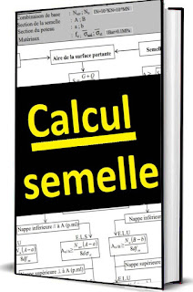 calcul fondation semelle,  Calcul de semelles - Organigramme PDF,  organigramme de calcul,  calcul béton,