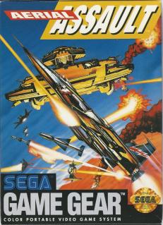 Jogo retro online Aerial Assault Game Gear